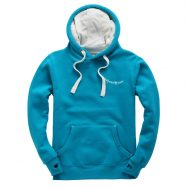 Caribbean Blue Hoody Front 2