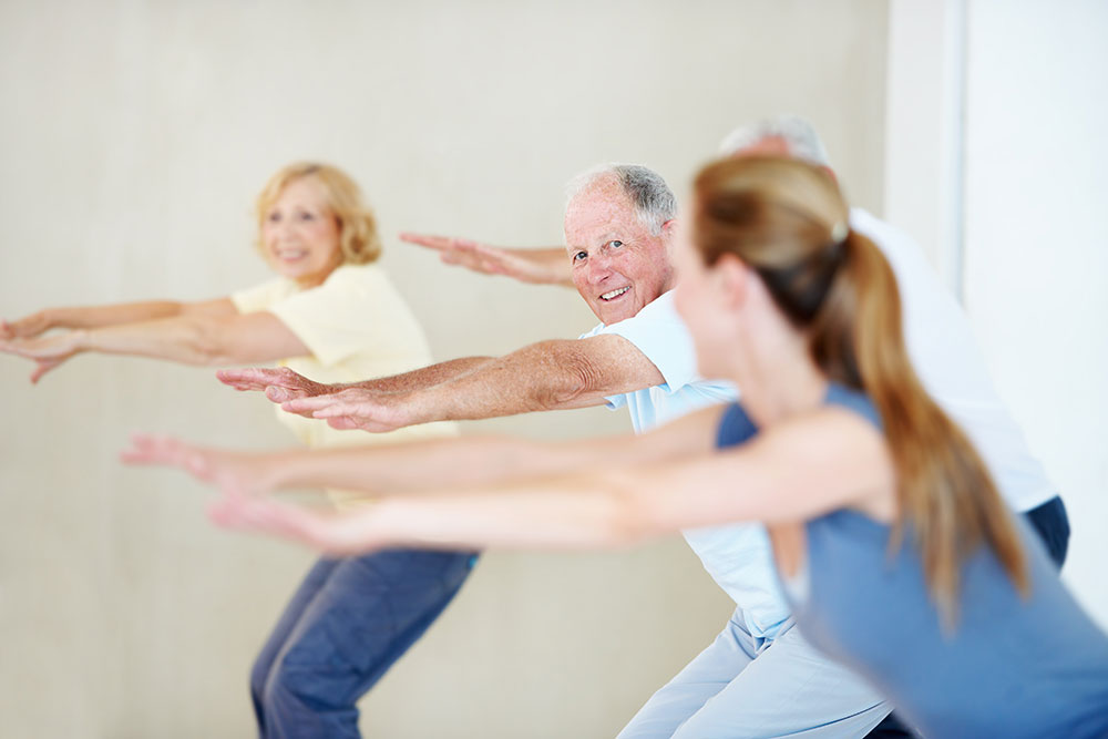 Pilates Movements in our Gracious Years